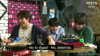 "Suga le dice ""Te amo"" a Tae y Jimin se pone celoso BTS"
