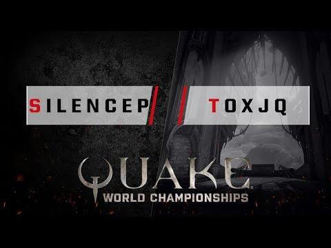 Quake - silencep vs. toxjq [1v1] - Quake World Championships - Ro32 EU Qualifier #2