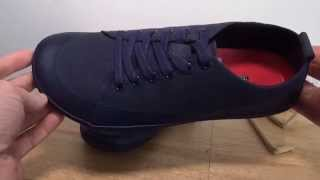 vivobarefoot freud ii nayvy blue canvas winterproof tennis shoe