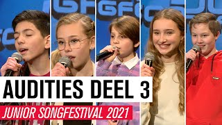 #3 AUDITIES JSF 2021 - DEEL 3 | JUNIOR SONGFESTIVAL 2021 🇳🇱