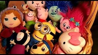 Peppa Pig, Trolls, Frozen, Paw Patrol, Hello Kitty, Minions (Learn Characters Name) Box of Kids Toys
