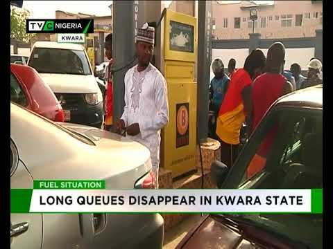 Long queues disappear at filling stations in Kwara