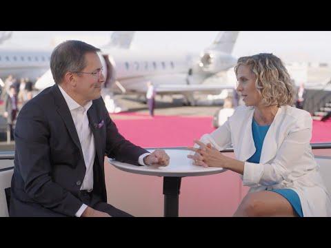Bombardier à NBAA-BACE - Leadership environnemental