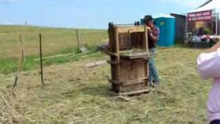 How to Bale Hay-Old-fashioned Way