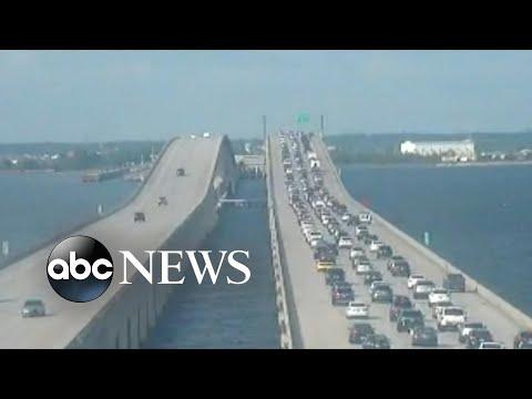 Urgent evacuations underway in Louisiana