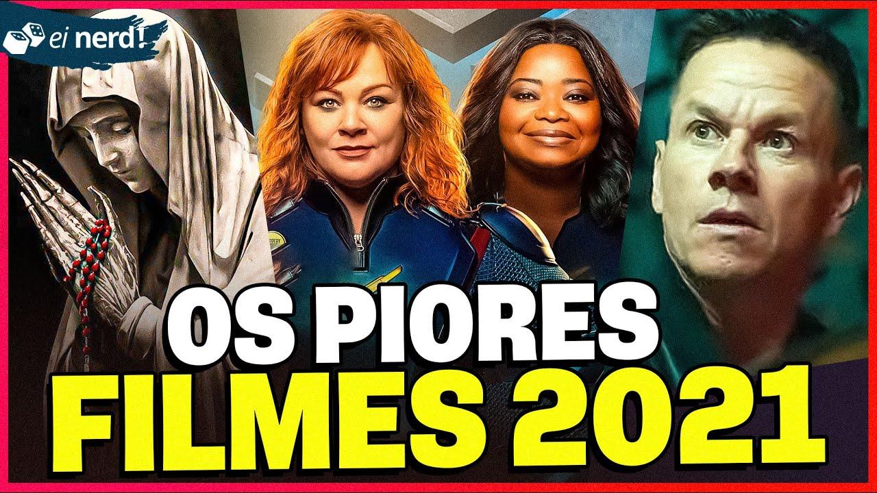 OS PIORES FILMES DE 2021! [ATÉ AGORA]
