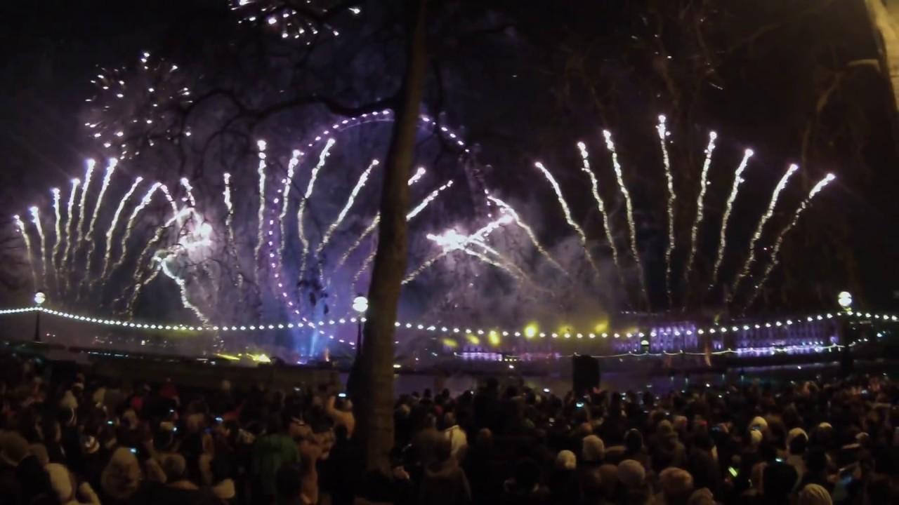 London New Years Fireworks 2014-2015 - YouTube