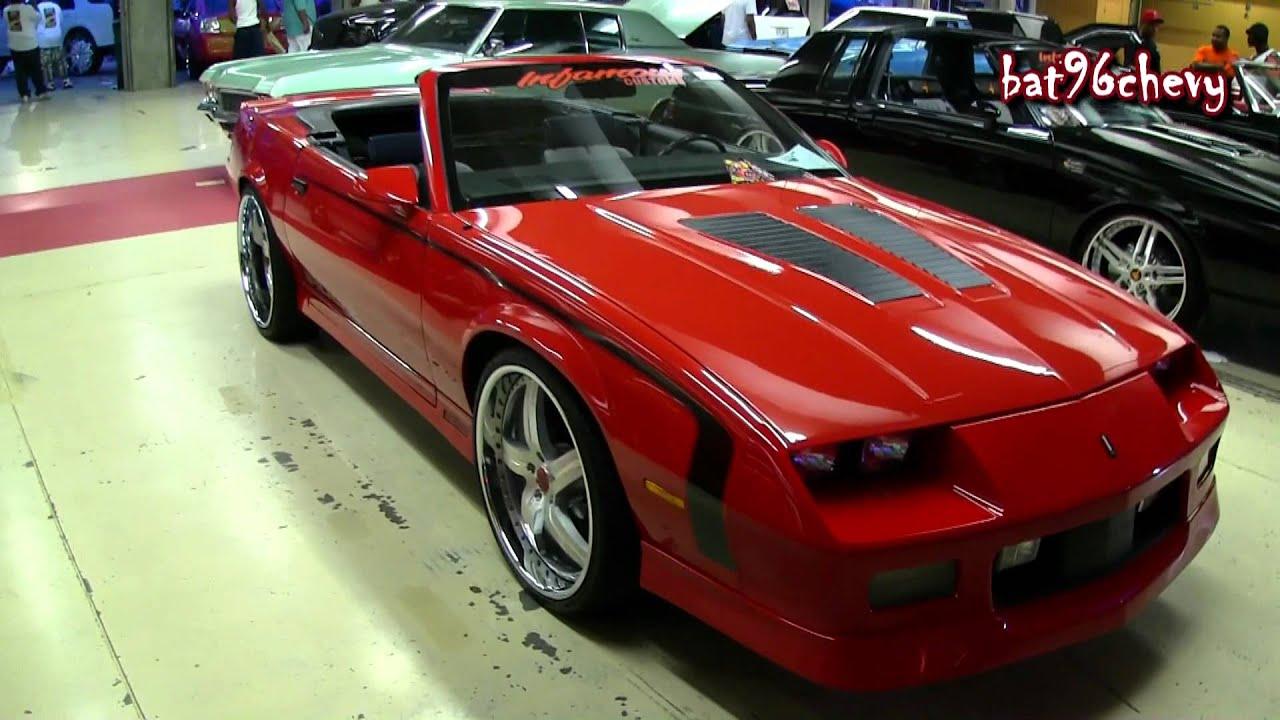 Chevy Camaro Iroc Z Vert On 22 Quot Staggered Wheels 1080p