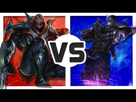 Zed vs Shen (Rap Battle)