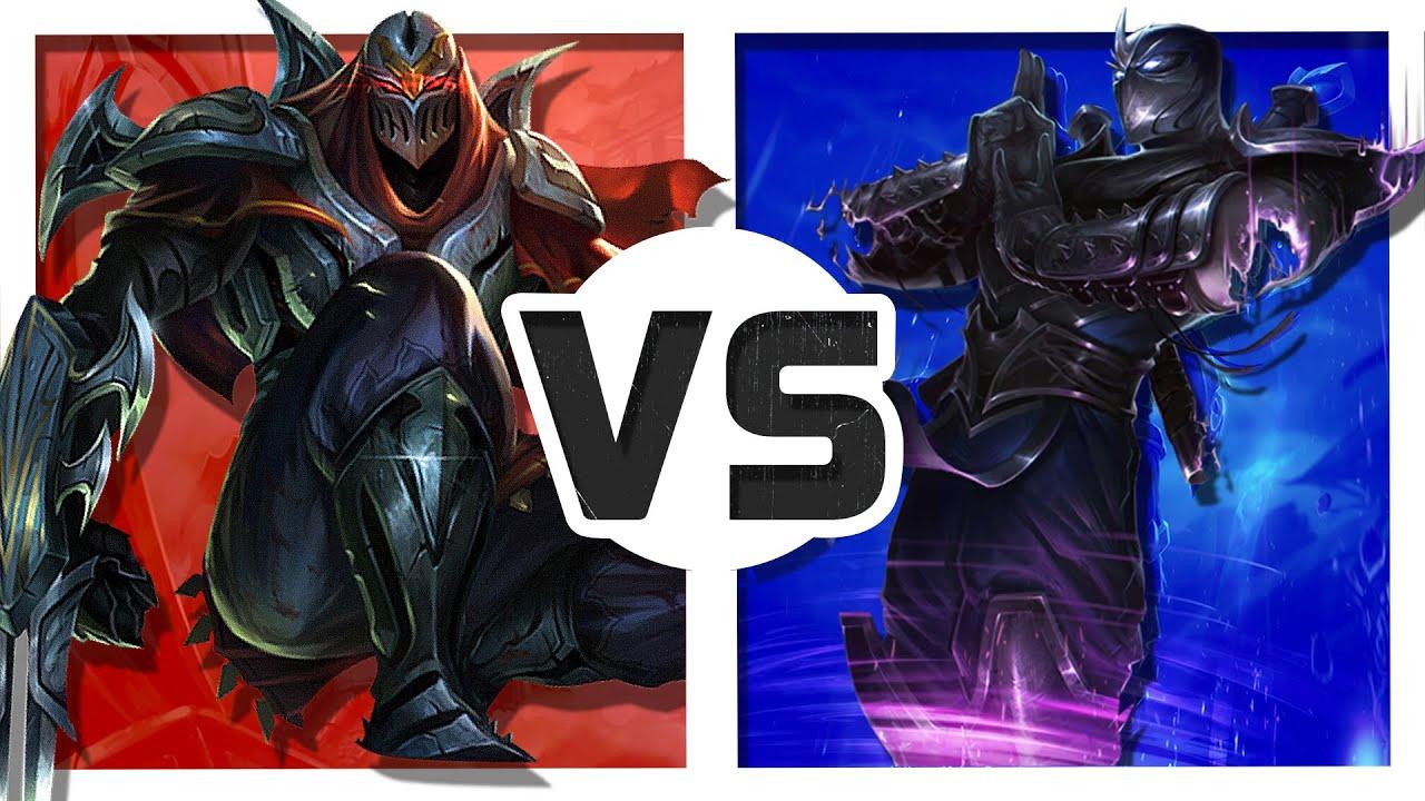 zed vs shen rap battle youtube