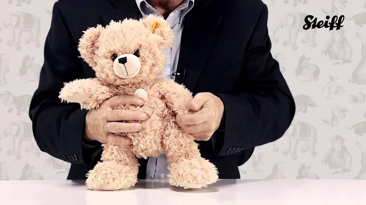 steiff lars teddy bear steiff usa youtube. Black Bedroom Furniture Sets. Home Design Ideas