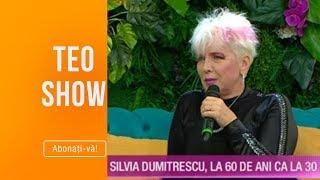 Teo Show (15.10.2019) - Silvia Dumitrescu, la 60 de ani ca la 30! Totul despre lupta cu kilogramele!
