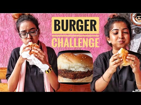 BURGER EATING CHALLENGE || Most Famous Burger Joint In PUNE || Independence Day Special