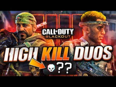 NEW PERSONAL DUOS KILL RECORD! - COD Black Ops 4 Blackout Gameplay