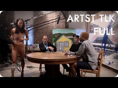 Pharrell Williams Interviews David Salle & KAWS | ARTST TLK Ep. 2 Full | Reserve Channel