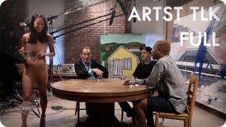 Repeat youtube video Pharrell Williams Interviews David Salle & KAWS | ARTST TLK Ep. 2 Full | Reserve Channel
