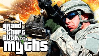 GTA 5 Myths (Tank Explodes, Messing with Police, Stun Gun Fun and More!)