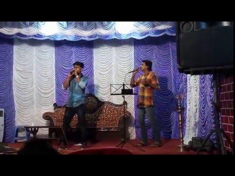 Today's viswaragam's prgm.. fair n lovely tamil song singing by Nandhakishor....