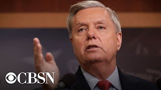 Live: Senator Lindsey Graham holds press conference