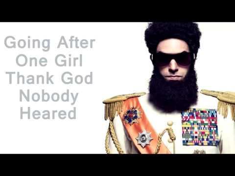 The Dictator Aladeen MotherFucker English Lyrics - YouTube