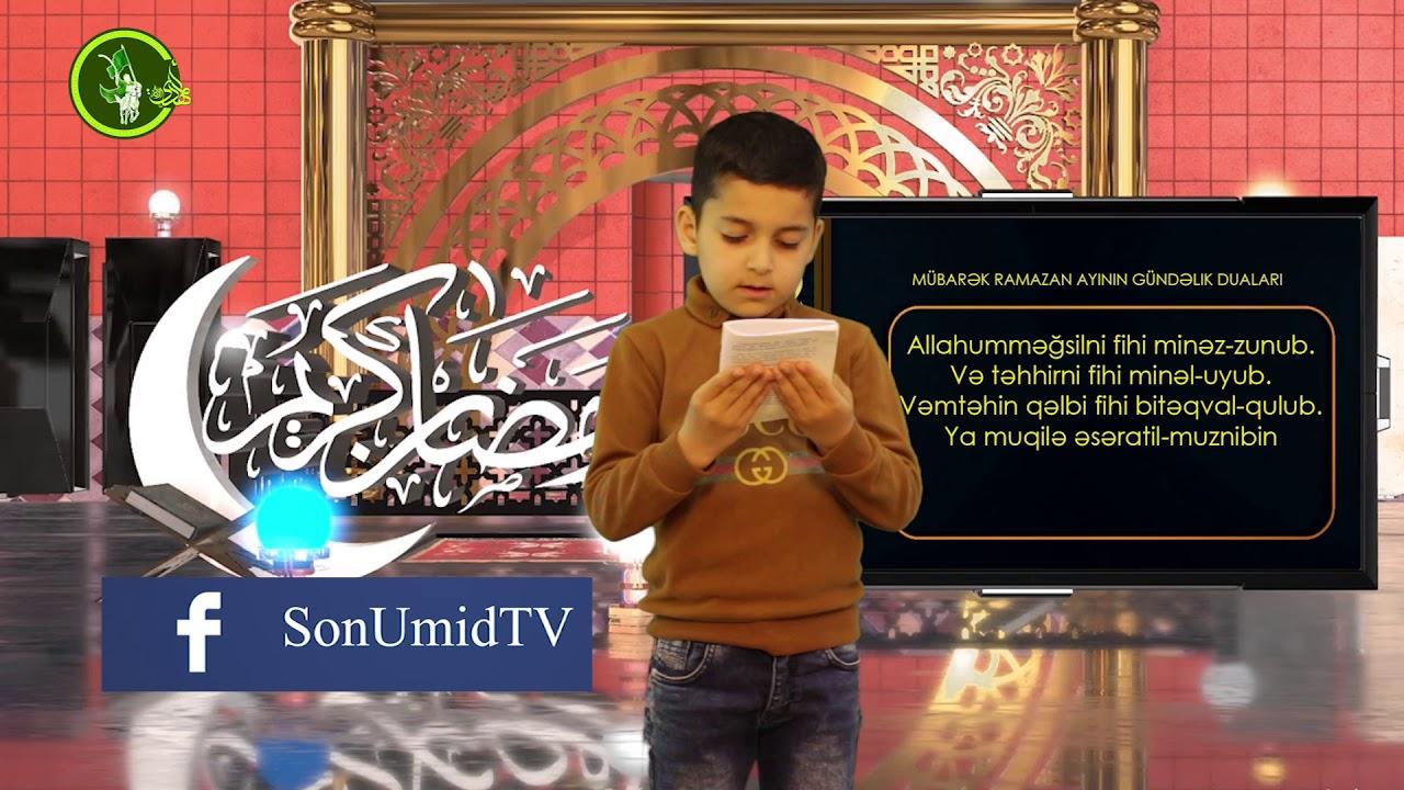 Mübarək #Ramazan2020 ayının 23-cü gününün – #DUASI Zeynəb&Mehdi