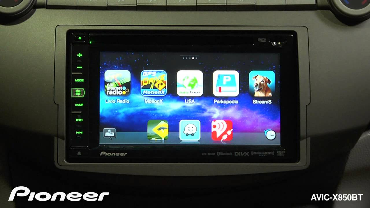 How To - AVIC-X850BT - Use Apps From Your iPhone