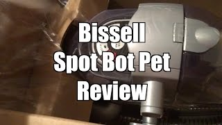 bissell spotbot pet review