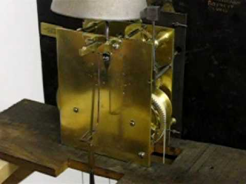 How to remove and re-hang a longcase clock pendulum