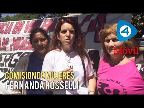 La Comisión de Mujeres reiteró el pedido de emergencia en violencia contra las mujeres en Varela
