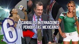 6 Escandalos Internacionales de Periodistas Mexicanos | Microtop