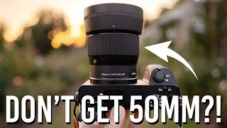 50mm - Why I Don