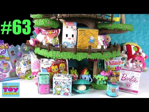 Thumbnail: Blind Bag Treehouse #63 Unboxing | Squinkies Shopkins Twozies Play Doh Surprise Egg | PSToyReviews