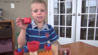 Plan Toys Castle Blocks Review By Baby Gizmo