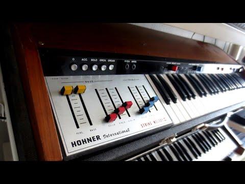 Logan / Hohner String Melody 2 Analog Stringmachine (1979) The String Presets - HQ Audio