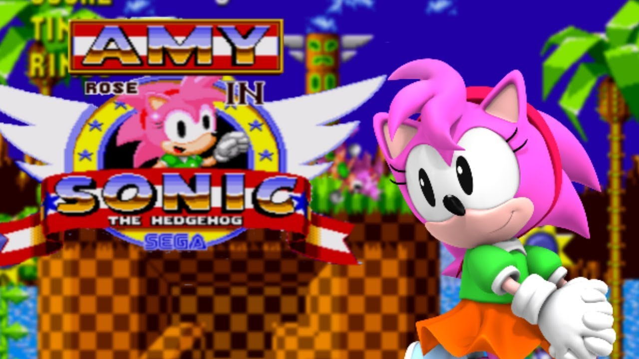 ️ Amy Rose in Sonic The Hedgehog - Gameplay - YouTube
