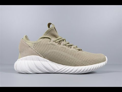 cheaper c8072 18dd3 Adidas Tubular Doom Sock Primeknit Tan Running Shoes BY3562 Reviews Unpack  FROM Robert