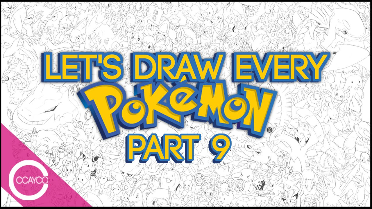 Let's Draw EVERY POKEMON Live!...