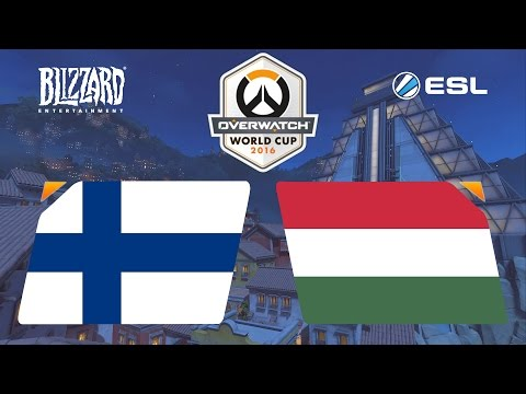 Overwatch - Finland vs. Hungary - Overwatch World Cup - Group B