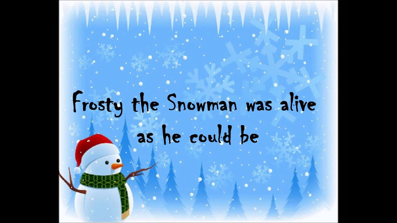 "Frosty the Snowman"" by Beach Boys *w/ lyrics* - YouTube"