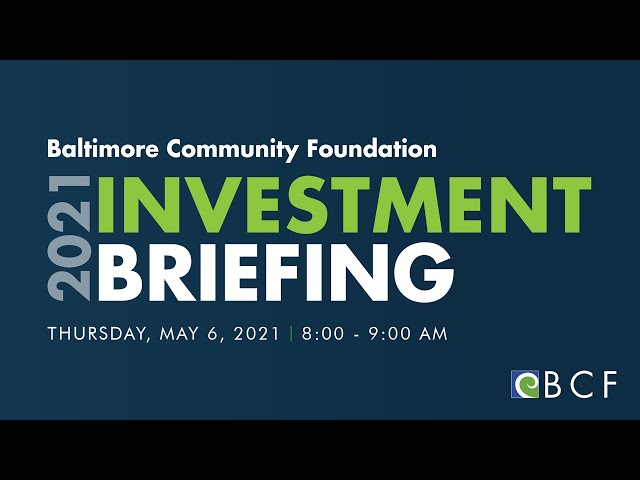 2021 BCF Investment Briefing