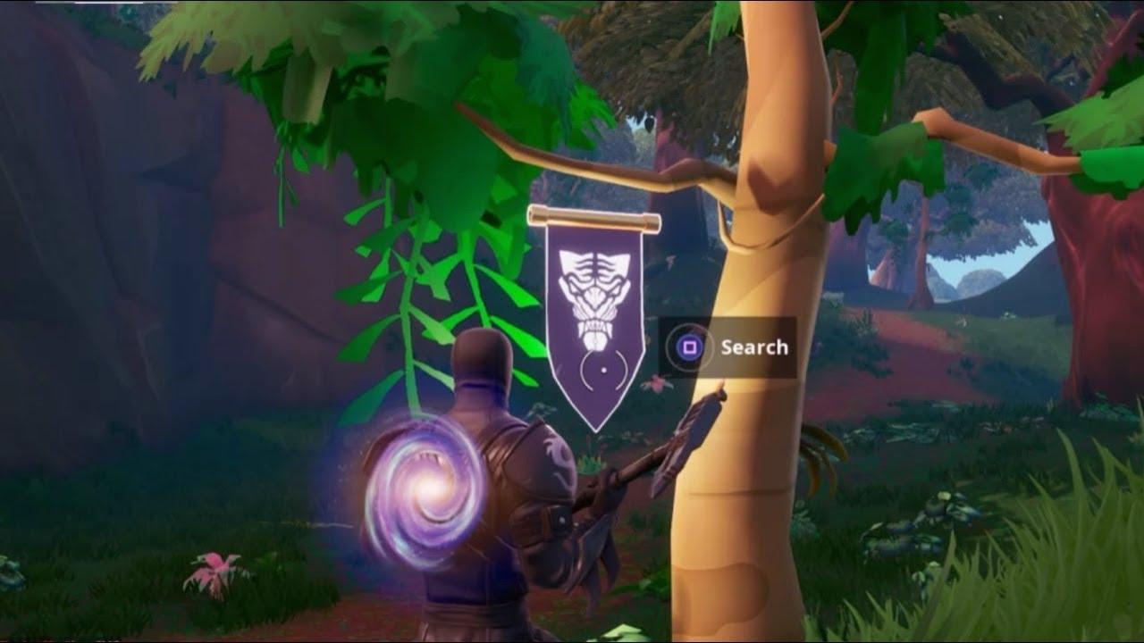Fortnite Battle Royale Secret Season 8 Week 6 Banner Location