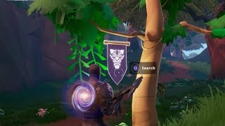 Fortnite Battle Royale - Secret Season 8 Week 6 Banner Location (Discovery Challenges)