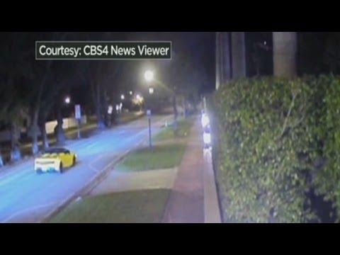 Justin Bieber's drag race caught on surveillance camera