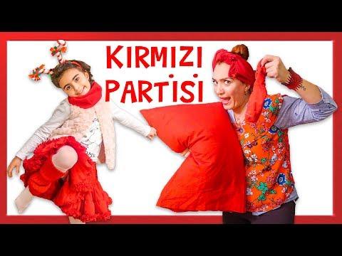 Mira ile Kırmızı Partisi Kırmızı Balık Şarkısı ile Dans | Eğlenceli Çocuk Videosu