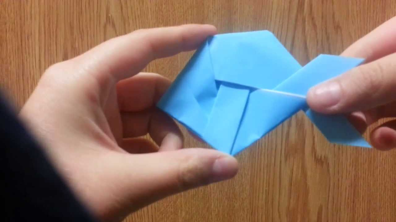 Origami Fish, Designed By Jeremy Shafer - Not A Tutorial ... - photo#44