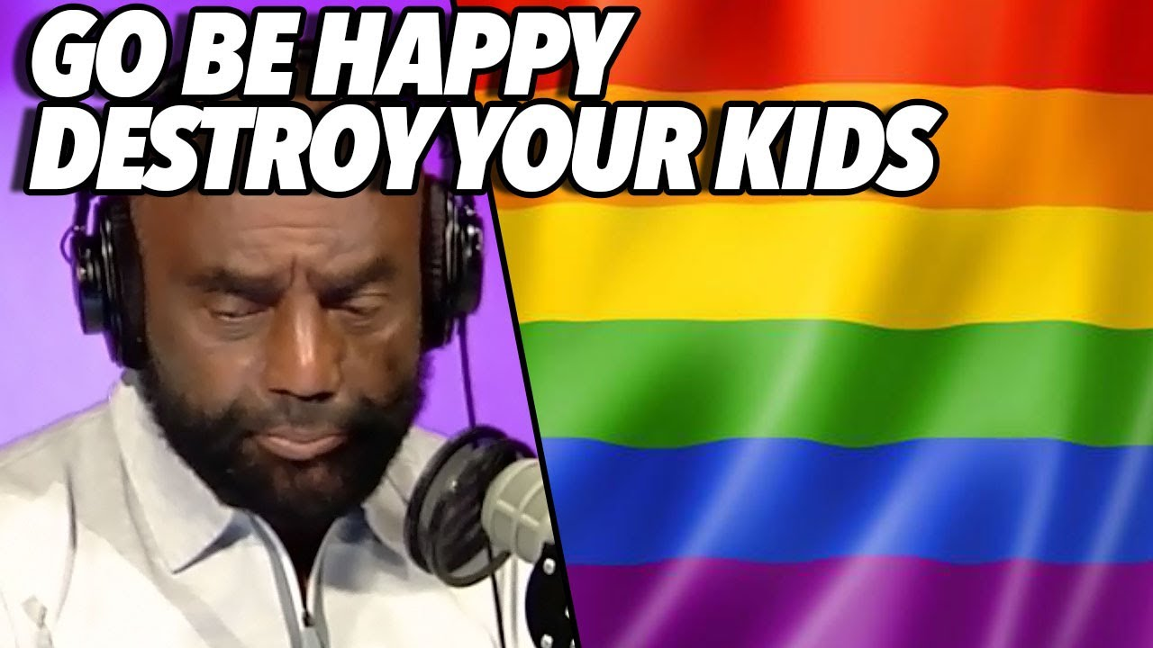 Jesse Lee Peterson - My Mom Is A Stone Cold Lesbian