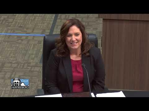 Murfreesboro City Schools Director  Interview - Tammy Garrett (1/12/21)