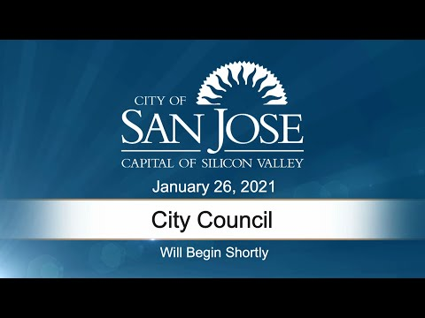 JAN 26, 2021 | City Council Afternoon Session