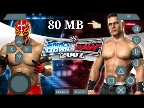 (80MB) Wwe Smackdown Vs Raw Game Download Android Device For Mobile Phones