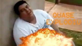 Gordo quase explode de TANTO RIR kkkkkkk